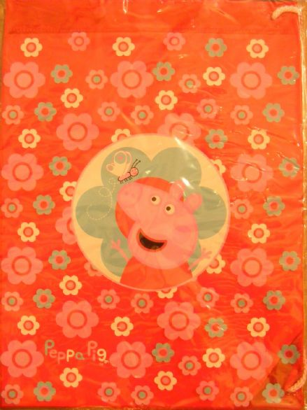 BNWT RED PEPPA PIG CHILD'S swimbag PERFECT FOR SCHOOL